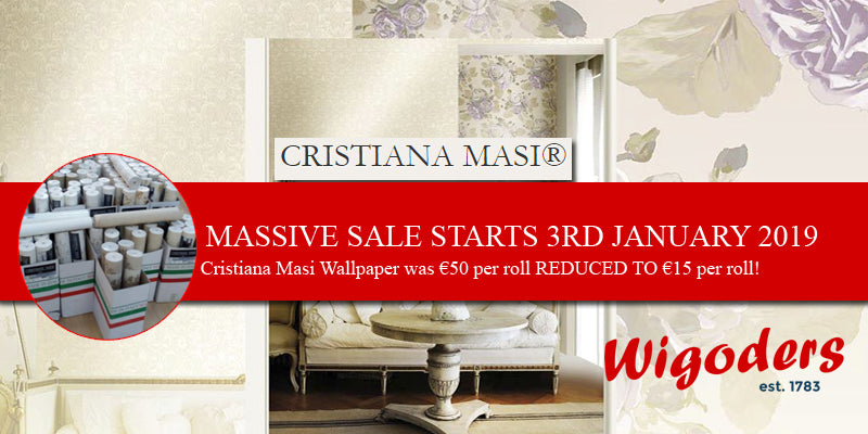 Massive January sale on selected Cristiana Masi Wallpaper