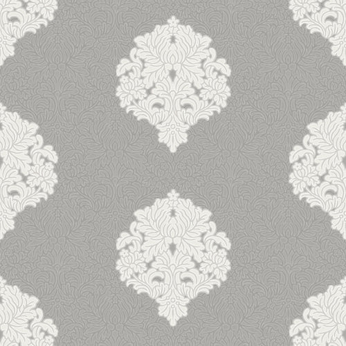 Floriana Damask Grey