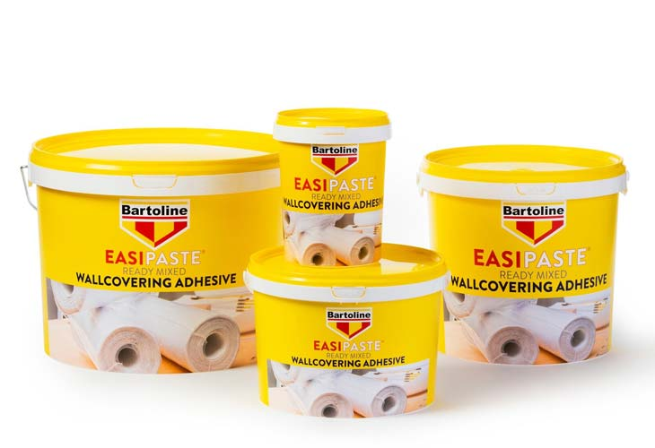 Bartoline EASIPASTE Ready Mixed Wallcovering Adhesive