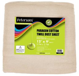 Petersons Paragon Cotton Twill Dust Sheet 12ft x 9ft