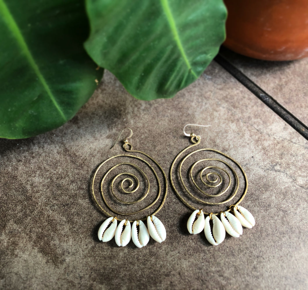 Boundless Cowrie Earrings