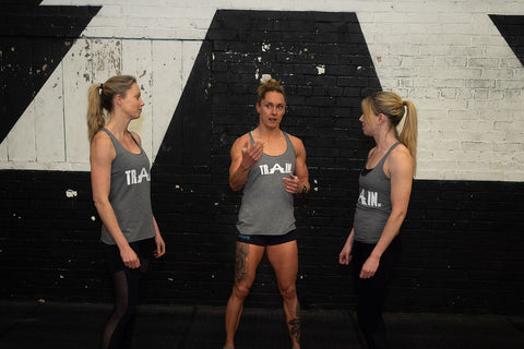 Sam Briggs CrossFit athlete TRAIN Crossfit women's vest