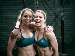 Gabby and Maddy photograph at recent M Squared Fitness CrossFit competition