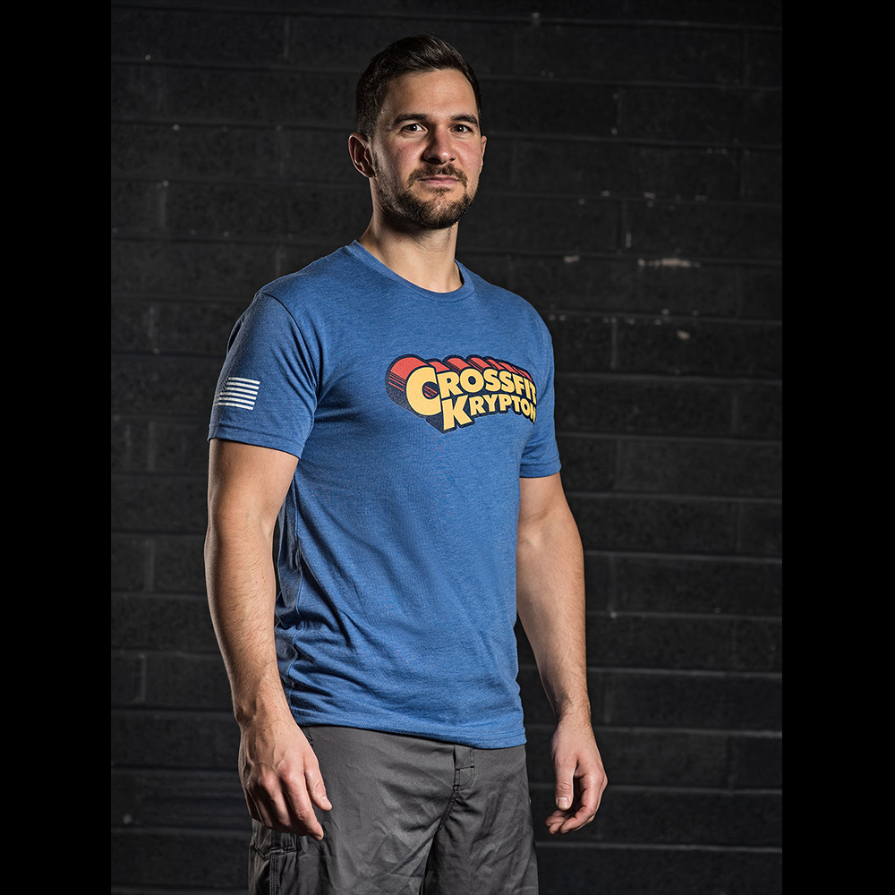 Ben Smith Crossfit Games athlete t shirt