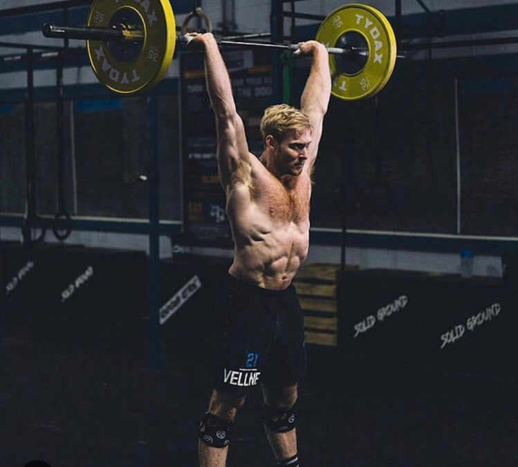 Patrick Vellner CrossFit Athlete and strong contender to win the 2019 CrossFit Games