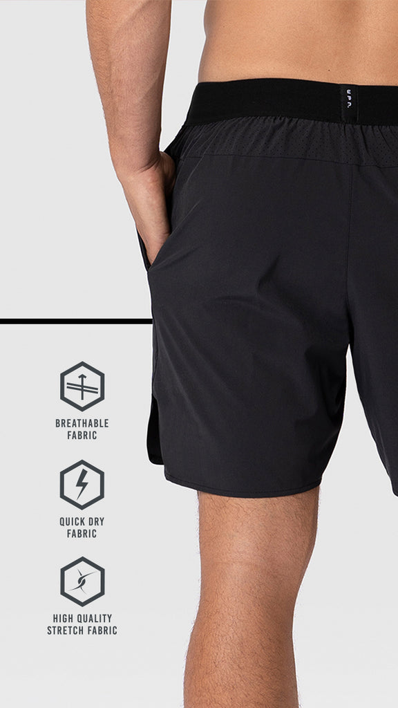 "WPN Horizon 6"" lined training shorts"