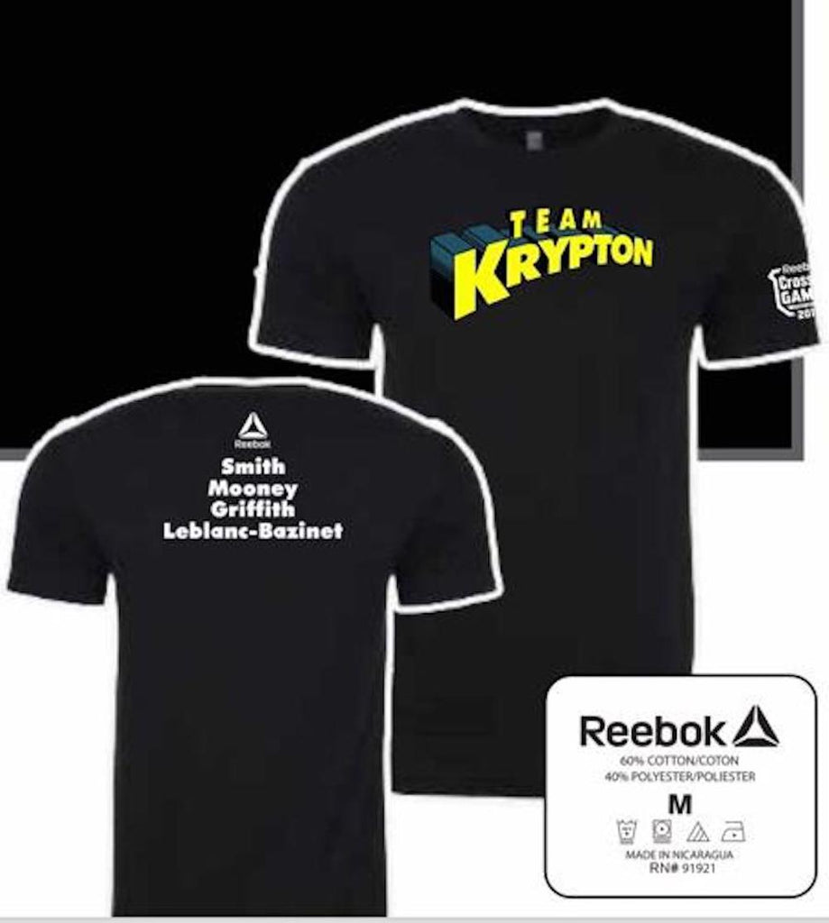 Alex Smith Team Krypton Crossfit Games 2019 athlete Crossfit T shirt