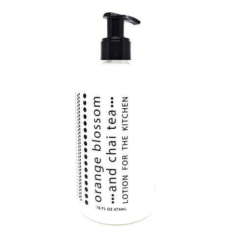 Orange Blossom & Chai Tea Lotion