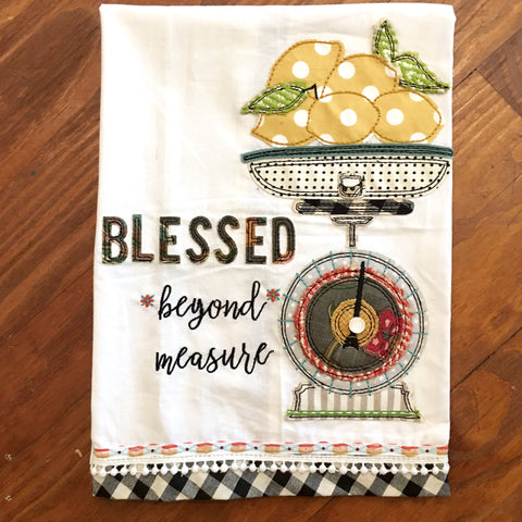 Towel - Blessed Beyond Measure