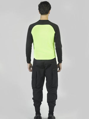 Black Neon Yellow Track Jacket - Jackets - Avalone - Elevastor