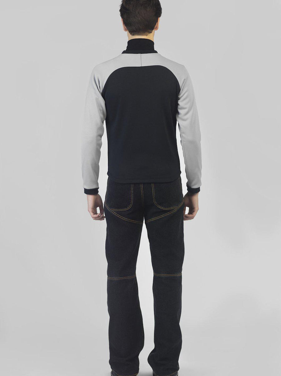 BLACK ENERGY' TRACK JACKET - Tops - Avalone - Elevastor