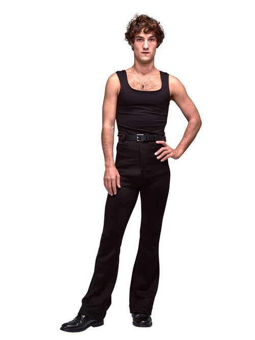 Black Sleeveless Top - T-Shirts - Arturo Obegero - Elevastor