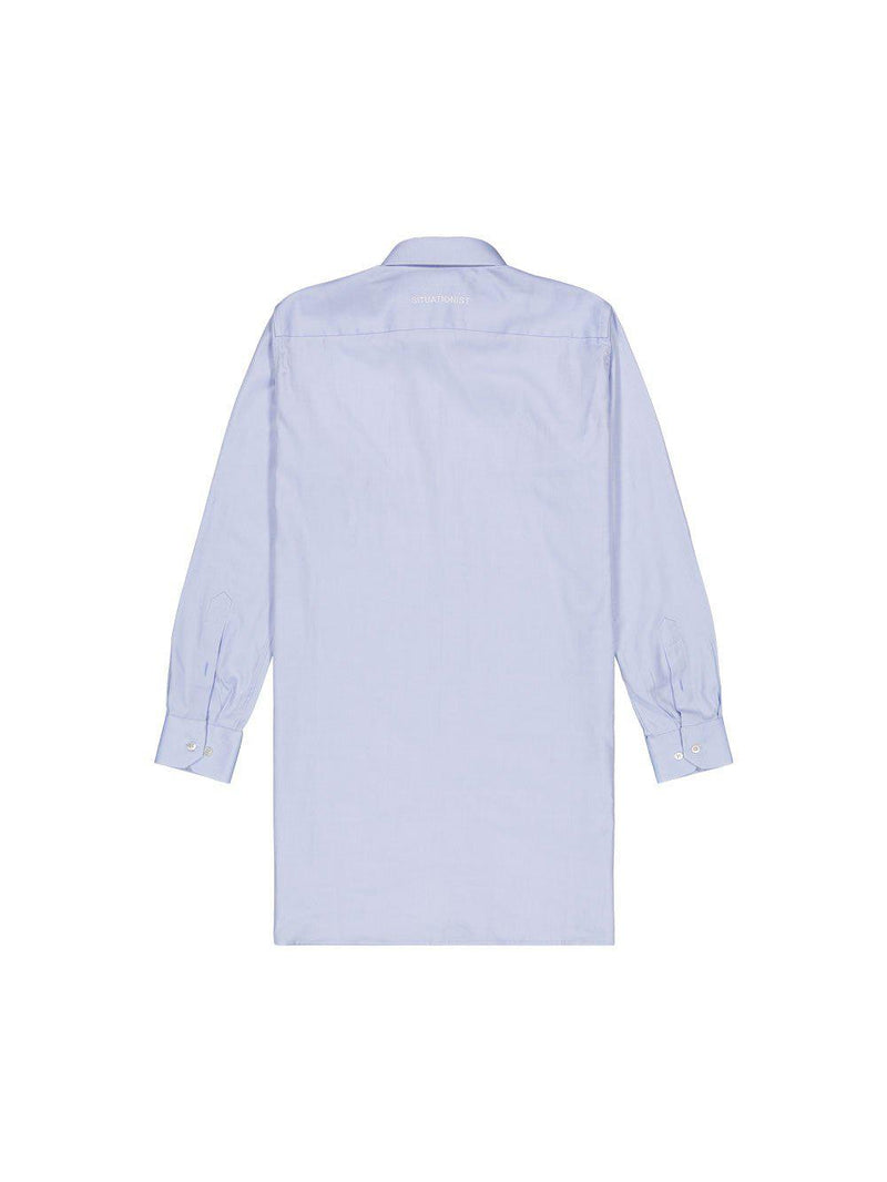 Blue Long Shirt - Shirts - Situationist - Elevastor