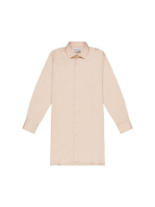 Beige Long Shirt - Tops - Situationist - Elevastor