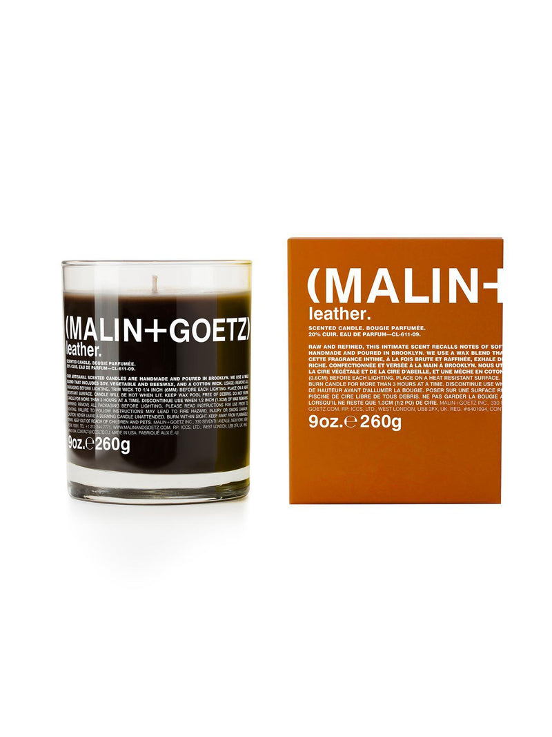 Leather Candle - Candles & Perfumes - Malin+Goetz - Elevastor