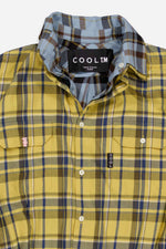 Yellow & Blue Oversized Reversible Shirt - Tops - Cool TM - Elevastor