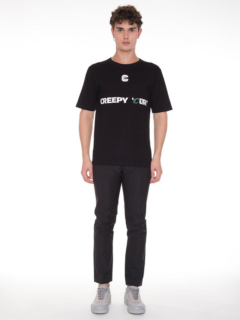 Black Creepy Cute T-Shirt - T-Shirts - Xander Zhou - Elevastor