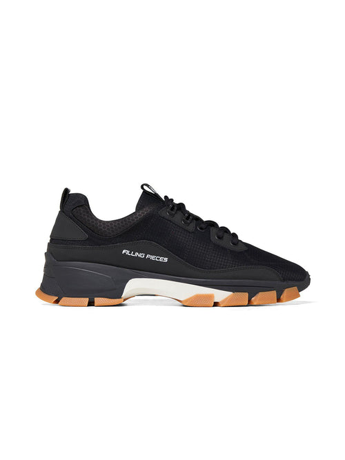 Black Lux Radar Kite Sneakers - Shoes - Filling Pieces - Elevastor