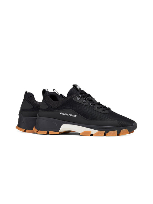 Black Lux Radar Kite Sneakers - Sneakers - Filling Pieces - Elevastor