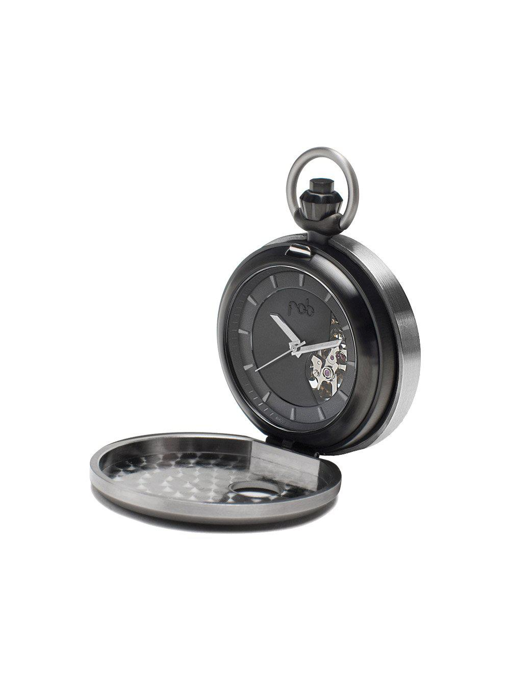 Black Legacy Pocket Watch - Watches - Fob - Elevastor