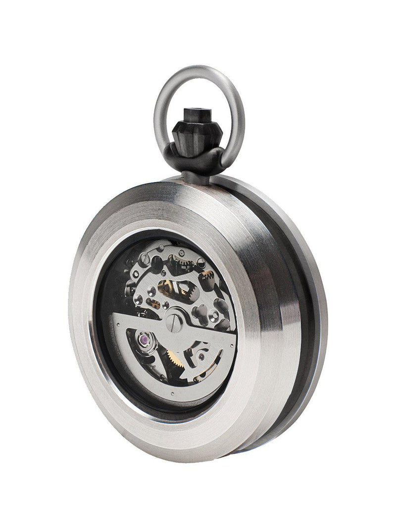 Silver Legacy Pocket Watch - Watches - Fob - Elevastor