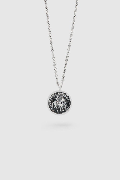 Silver Coin Pendant Necklace - Jewelry - Tom Wood - Elevastor