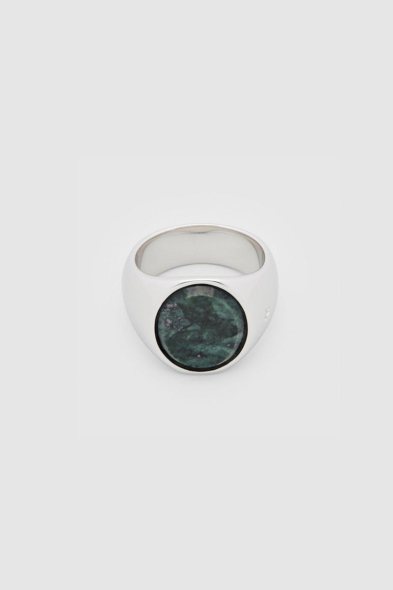 Oval Green Marble Ring - Jewelry - Tom Wood - Elevastor
