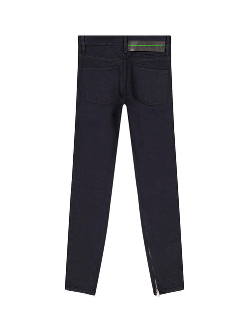 Black Washed Skinny Jeans - Trousers - Sankuanz - Elevastor