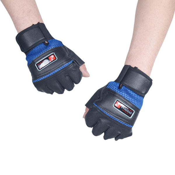 100% Brand New and High Quality Gym Body Building Training Gloves Weight Lifting Workout Gloves, Sales Kyokushin Store