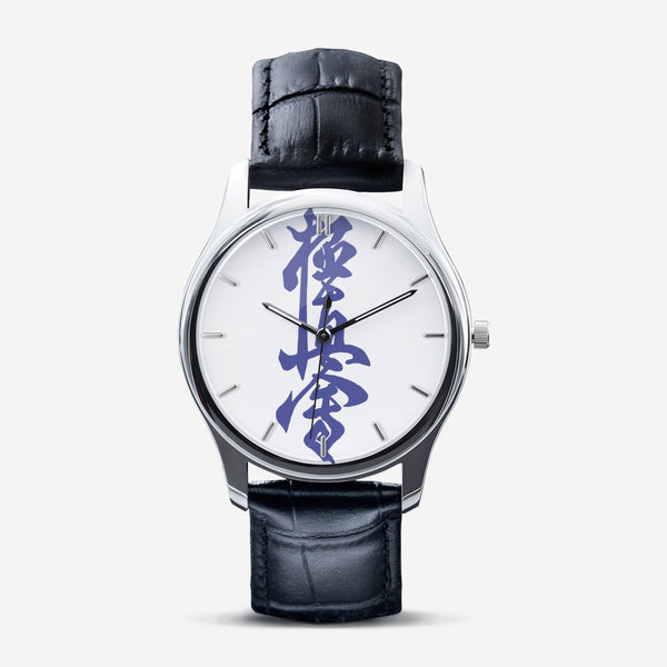 Kyokushin Classic Fashion Unisex Print Black Quartz Watch