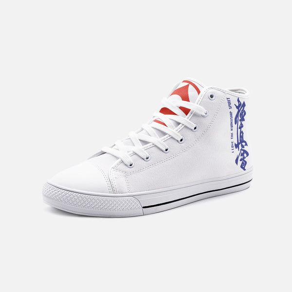 Kyokushin Unisex High Top Canvas Shoes
