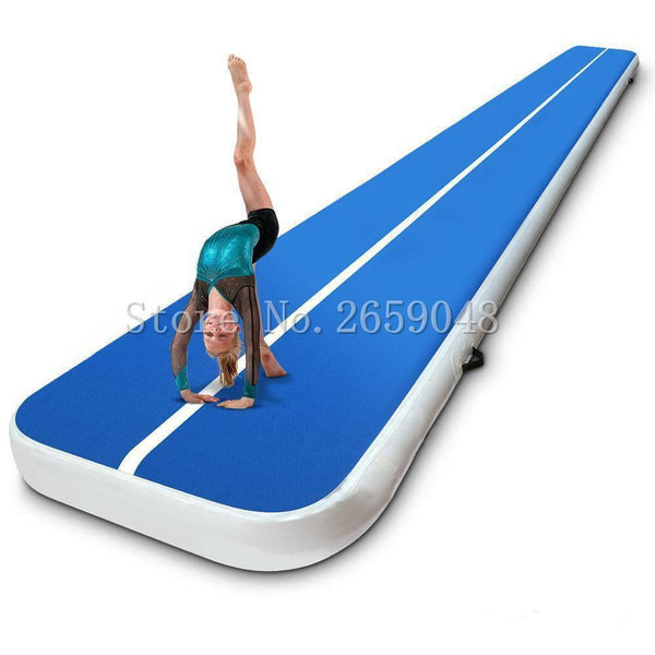 Air Track 8*1*0.2m Inflatable Tumbling Mats for Gymnastics with Electric Pump for Martial Arts, Training, Outdoor Sales Kyokushin Store