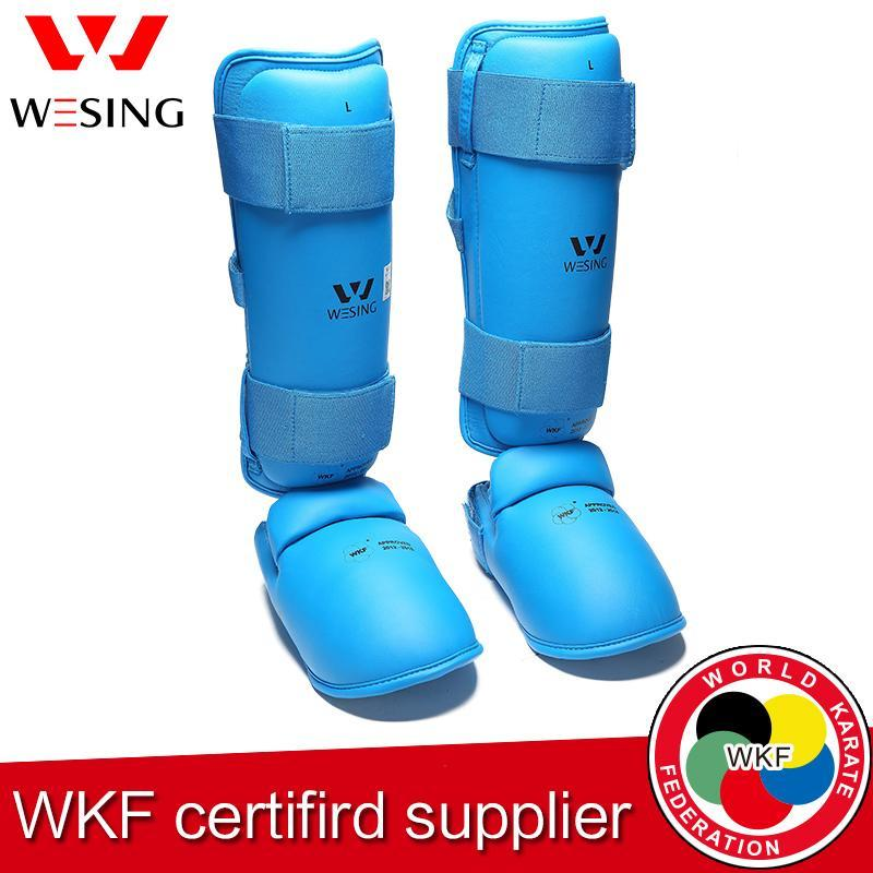 Wesing  Karate Shin and Instep Guard Adult