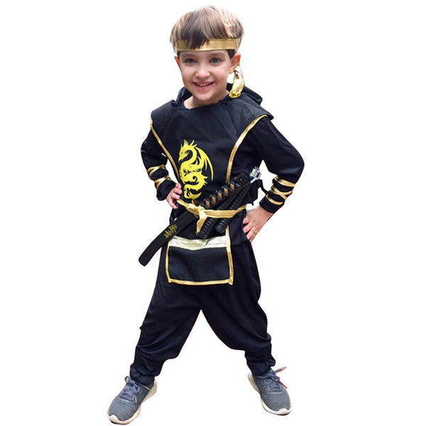 Snailify  Japanese Ninja Cosplay Costume  Set for Kids