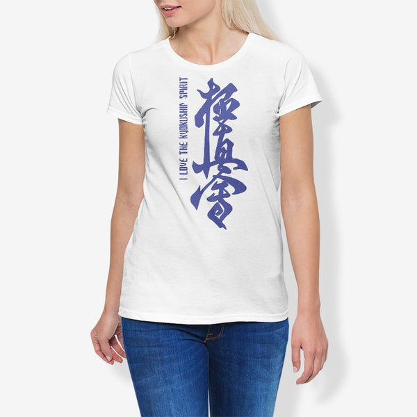 Kyokushin Women's Cotton Stretch CrewNeck T-Shirt