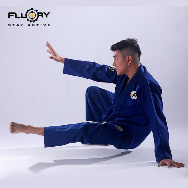 Fluory New Design BJJ Gi Brazilian Jiu-Jitsu Gi Woven Label Patches on Gi BJJ, BJJ Gis Kyokushin Store