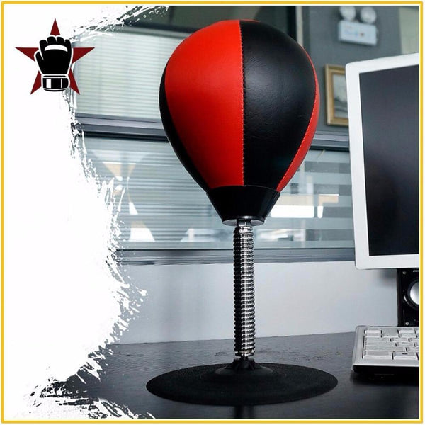High Quality Desk Boxing Punching Bag Speed Ball Bags PU Punch Training Fitness Sports Practical Stress Release $20 - $50, black, blue white, boxing, fitness & body building, modalyst, red, red black, sports & entertainment Kyokushin Store