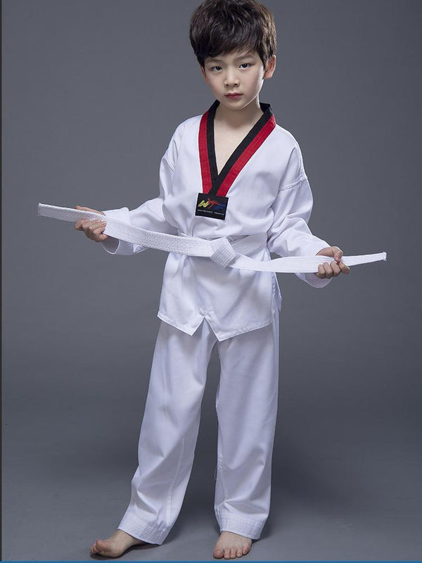 High Quality Taekwondo Dobok Uniform TKD Cotton & Bamboo Fiber Suite WTF Children Kids Adults Teakwondo, Uniforms, WTF Kyokushin Store