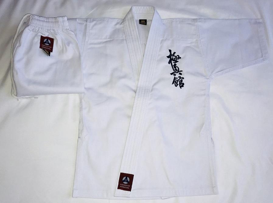 K-555 Kyokushin-kan Embroidery Uniform Full Contact Karate Gi