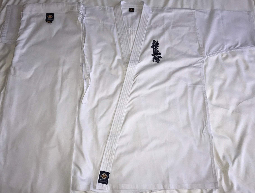 K-555 Kyokushinkai Embroidery Uniform Full Contact Karate Gi
