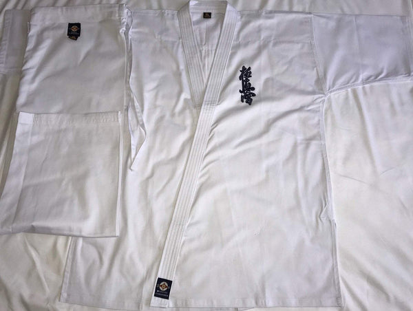 K-555 Kyokushinkai Embroidery Uniform Full Contact Karate Gi FC, Gi, Gis, Kyokushin, Kyokushin Gi, Kyokushin Uniforms, KyokushinkI, Uniforms Kyokushin Store