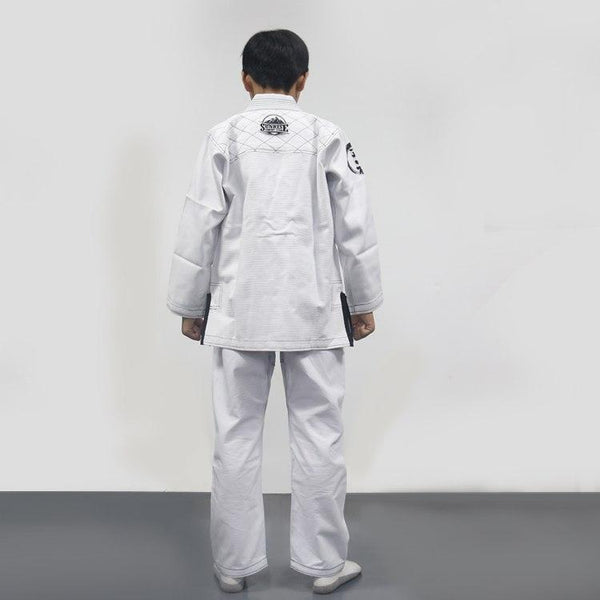 Kyokushin Store Kid's Brizilian Jiu-Jitsu Gi Children's Training/Competing BJJ Uniform Kimonos Kyokushin Store