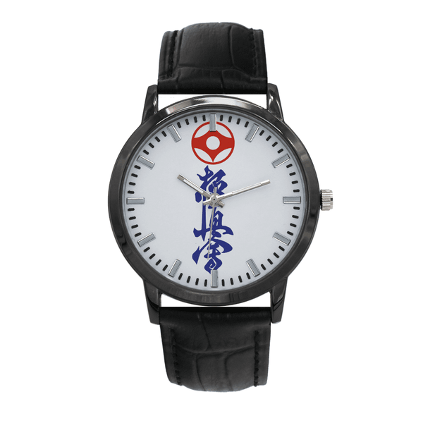 Concise Dial Leather Strap Water Resistance Quartz Watch Accessories, IFK, Kyokushin, Kyokushin-kan, Latest, Watches Kyokushin Store