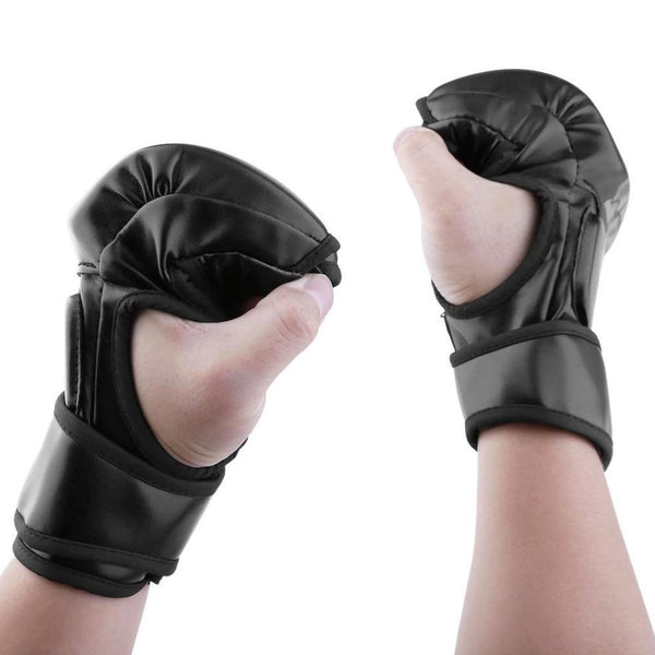 Kyokushin Store MMA Fight Boxing Half Finger Sparring Gloves Fight Sandbags Fist Protector 2018 Kyokushin Store