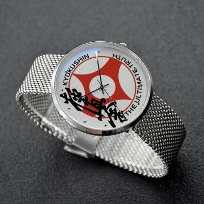 30 Meters Waterproof Quartz Fashion Watch With Casual Stainless