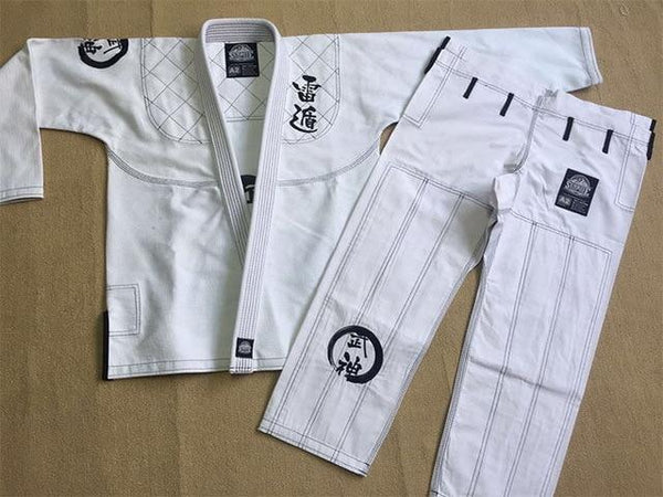 Kyokushin Store Sunrise BJJ GI training Brazilian Jiu Jitsu Gi 100% Cotton Fabric Uniform Kyokushin Store