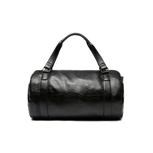 Kyokushin Store Top PU Leather Men's Classic Sports Gym Bag Kyokushin Store