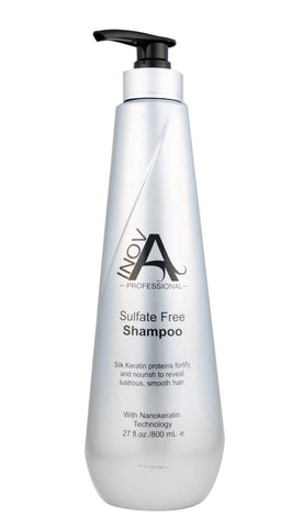 Silk Keratin Smooth Protection - Sulfate-Free Shampoo - 27oz.