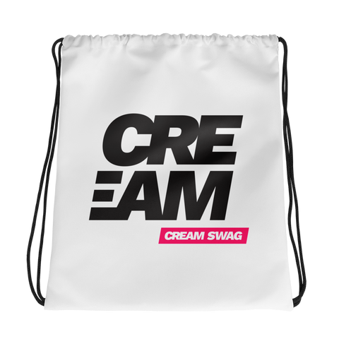CREAM Drawstring Bag