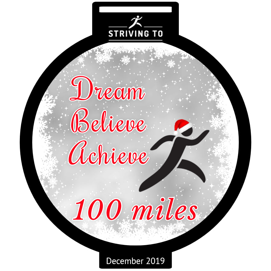 100 Miles - Striving To... Dream, Believe, Achieve